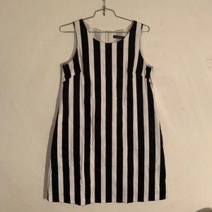 Marimekko vertical stripe dress